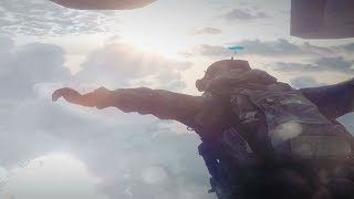 Epic Halo Jump Mission - Battlefield 3