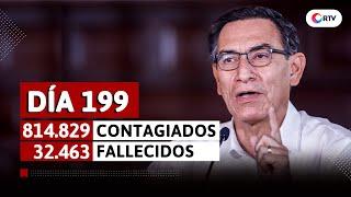 Coronavirus en el Perú: Mensaje de Vizcarra en el día 199 del estado de emergencia
