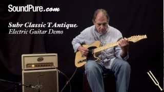 Suhr Antique Classic T w/ Butterscotch Finish - Tele Style Electric Guitar Demo