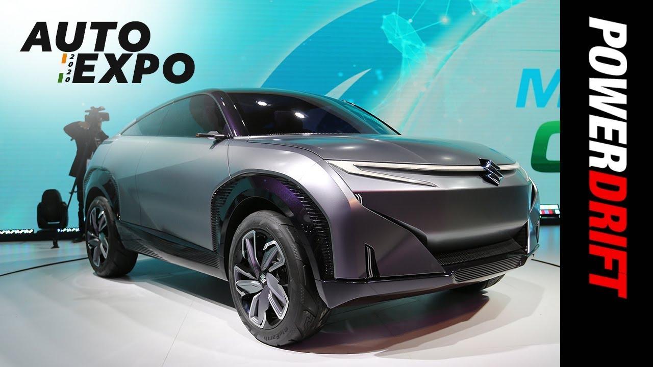 മാരുതി സുസുക്കി futuro-e concept | future of design | 2020 ഓട്ടോ എക്സ്പോ | powerdrift