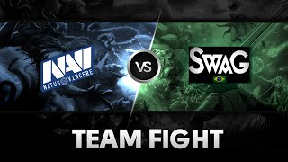 Team fight by Na'Vi.US vs Swagenteiger @D2 Champions League S4