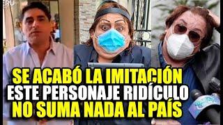 CARLOS ALVAREZ ANUNCIÓ QUE CANCELARÁ SU IMITACIÓN DE RICHARD SWING POR SER DAÑIN0 PARA EL PAÍS