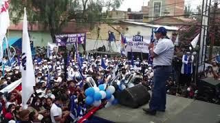PRESIDENTE LUIS ARCE DIO MENSAJE EN EL CIERRE DE CAMPAÑA DEL CANDIDATO ALVARO RUÍZ EN TARIJA