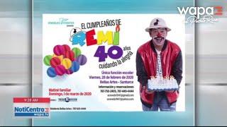 Remi celebra 40 años de trayectoria