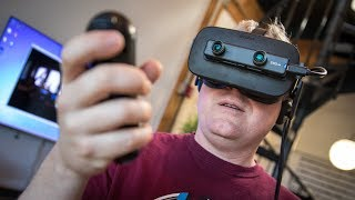 Hands-On with the ZED Mini Mixed-Reality Camera!