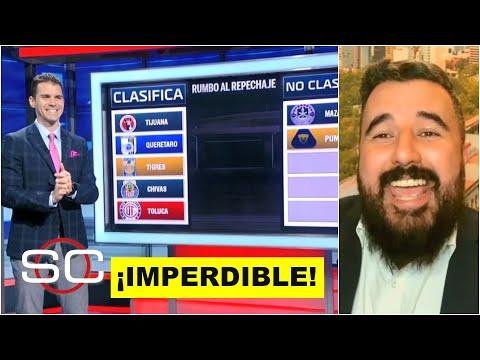 LIGA MX Estos equipos clasificarán al repechaje, según Álvaro Morales ¡ANÓTELOS!   SportsCenter