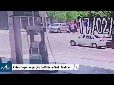 Video da perseguição da Policia Civil