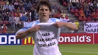 A 15 años del Mundial Sub-20 de Holanda que ganó Argentina de la mano de Messi