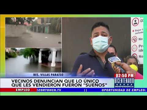 """""""Nos vendieron sueños frustrados""""   Denuncian estafa por venta de casas en la inundada res. Villas P"""