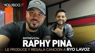 """Entrevista a Raphy Pina """"Le voy a producir y regalar un TEMA a Ryo Lavoz"""""""