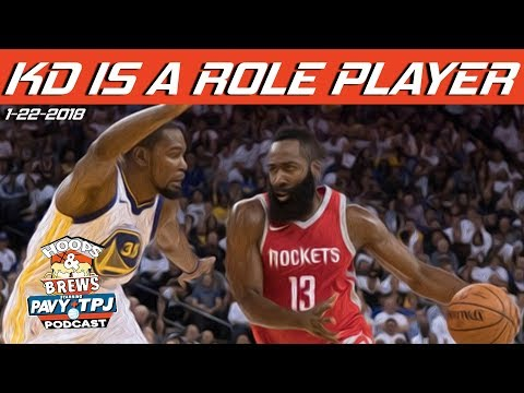 Has Kevin Durant Become A Role Player ? | Hoops & Brews