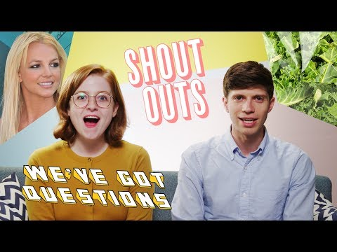 Shout-Outs: Kale Easters, Apartment Cleaners, and Best Commenters | We've Got Questions