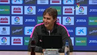 Rueda de prensa SD Eibar vs Sevilla FC