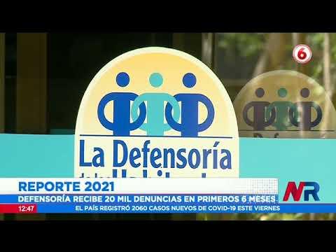 Defensoría reporta más de 20 mil denuncias contra instituciones públicas