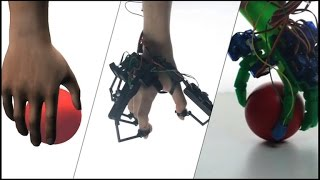 Crave - Grasp and feel objects in a virtual environment with the Dexmo VR Glove, Ep. 181