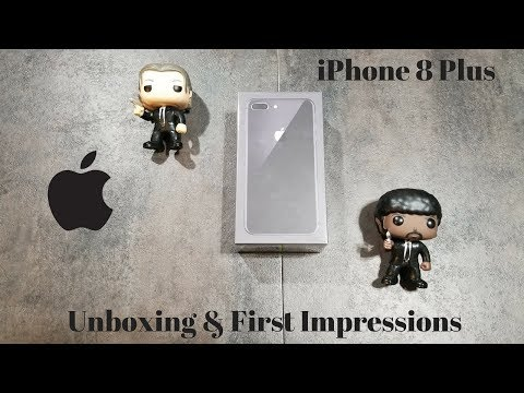 iPhone 8 Plus Space Gray: Unboxing & First Impressions