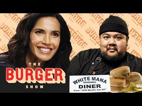connectYoutube - The Cult of the Jersey Diner Burger, with Padma Lakshmi | The Burger Show