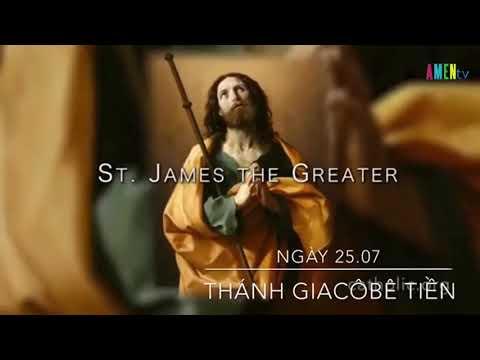 Ngày 25.07: Kính thánh Giacôbê Tông Đồ