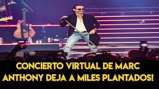 Concierto Virtual de Marc Anthony Deja a Miles Plantados! ????