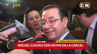 El diputado Miguel Cuevas con un pie en la cárcel