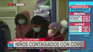 La Paz: el 90% de internados con Covid-19 en el Hospital del Niño tienen neumonía grave