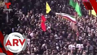 Estampida humana en el funeral del general Soleimani en Irán   Al Rojo Vivo   Telemundo