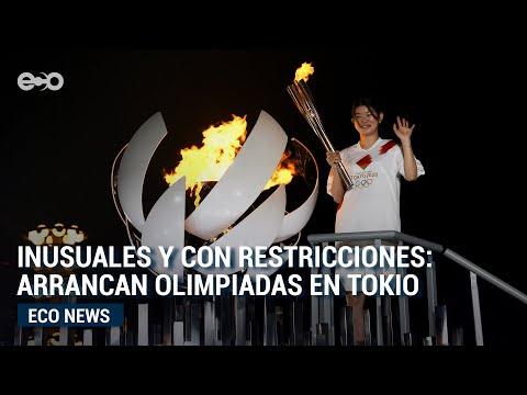 Inusuales y con restricciones: arrancan Olimpiadas en Tokio   Eco News