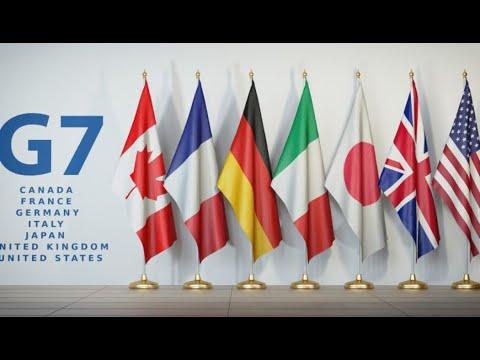 Inicia cumbre del 'G7' en Gran Bretaña