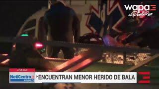 Niño de 4 años resulta herido de bala en residencial de Ponce