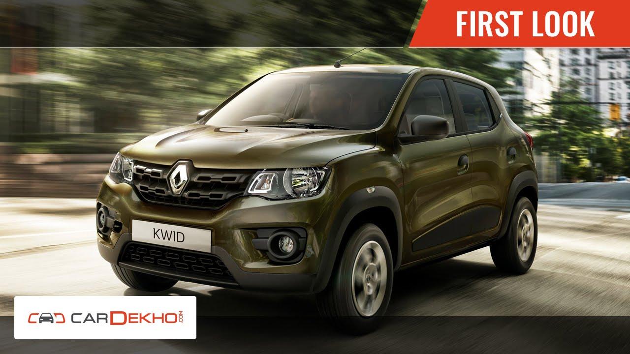 First and Exclusive Look | Renault Kwid | CarDekho.com