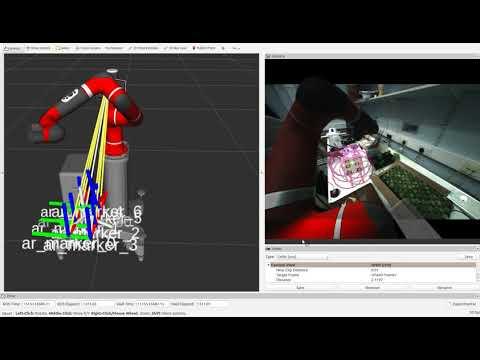 Rethink Sawyer SDK - Tracking AR Codes