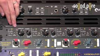 Earthworks 1021 1022 1024 Mic Preamp Video Demo
