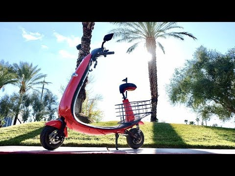 connectYoutube - Ford electric scooter first ride