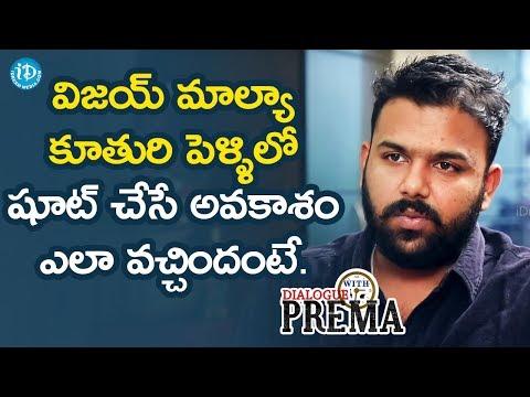 connectYoutube - Tharun Bhascker About How He Got A Chance To Shoot Vijay Mallya's Daughter Wedding