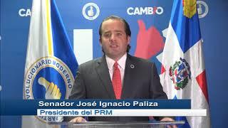 PRM considera oportuno OEA investigue suspensión de elecciones, como solicitó Abinader