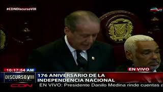 Reinaldo Pared destaca proyectos aprobados durante su gestión en el Senado