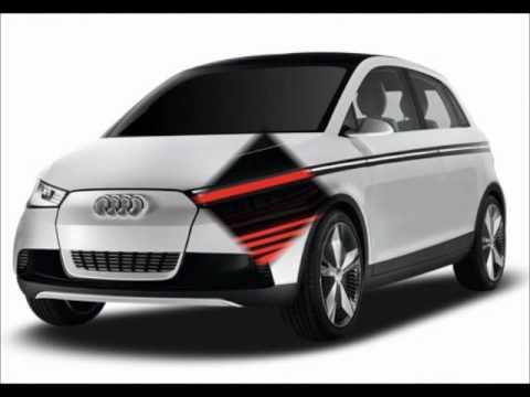 Audi A2 inside out