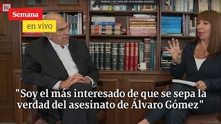 Samper habla sobre el asesinato de Álvaro Gómez Hurtado