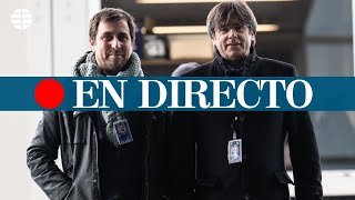 DIRECTO: Puigdemont y Comín asisten por primera vez a una sesión del Parlamento Europeo