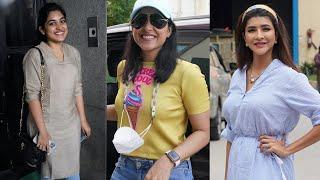 Actress Manchu Lakshmi And Nivetha Thomas At Shooting Spot | TFPC - TFPC
