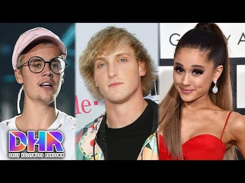 connectYoutube - Justin Bieber MOCKS Jake & Logan Paul?! - Selena Gomez's Mom SLAMS Ariana Grande! (DHR)