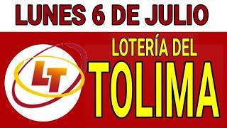 Resultados lotería del Tolima 6 de Julio de 2020