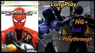 Spider-Man: Web of Shadows - Longplay (NG+ Evil Path) Full Game Walkthrough (No Commentary)