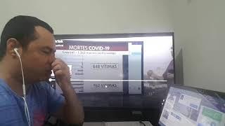 Globo consegue se superar ao anunciar números sobre o covid-19!