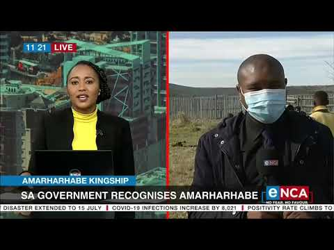 SA government recognises Amarharhabe