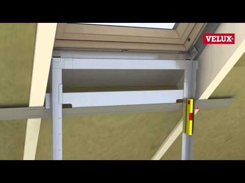 velux innenfutter einbau dachfenster innenverkleidung fenster abdichten tomclip. Black Bedroom Furniture Sets. Home Design Ideas