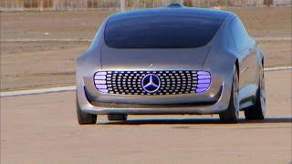 On the road: Mercedes F 015