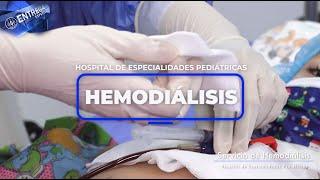 Servicio de Hemodiális en el Hospital de Especialidades Pediátricas Omar Torrijos Herrera