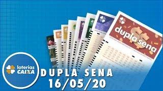 Resultado da Dupla Sena - Concurso nº 2079 - 16/05/2020