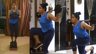 Pragathi Mahavadi Latest Workout Video | Actress Pragathi GYM Videos | IG Telugu - IGTELUGU